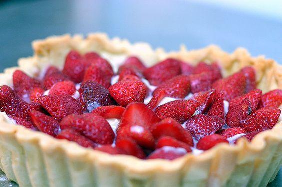 classic strawberry tart by smitten, via Flickr