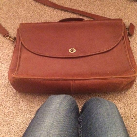 Coach briefcase Coach leather brief case Coach Bags Satchels