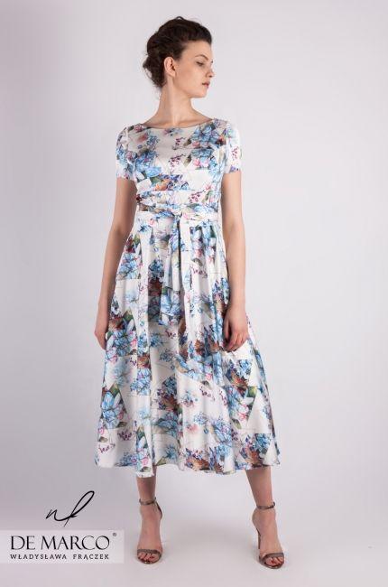 Modne Sukienki W Kwiaty Na Wesele I Nie Tylko Sklep Internetowy De Marco Summer Dresses Casual Dress Fashion