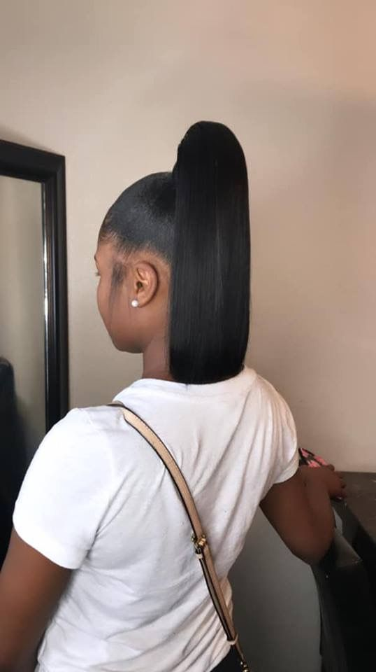 Bob Cut Ponytail : ponytail, Beauty
