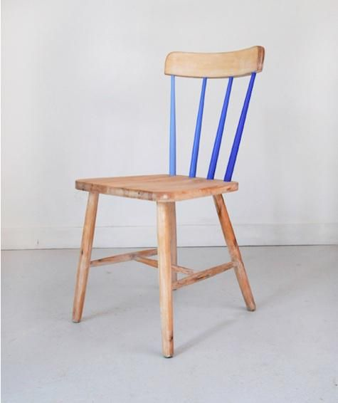 Chair with ombre spokes // Colonel