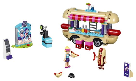 LEGO Friends Hotdog Stand