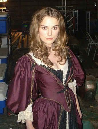 Bella figona elizabeth swann costume for adults