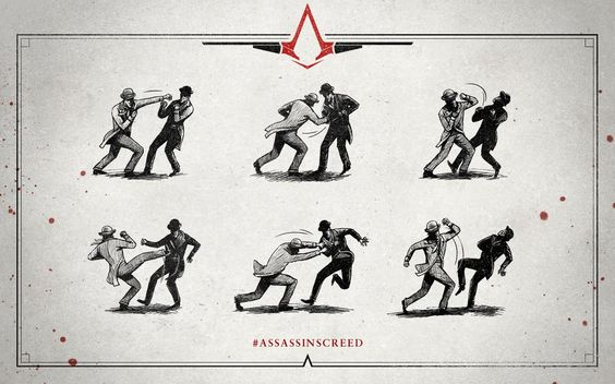 Assassin's Creed Syndicate Fighting Designs