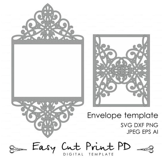 Wedding Invitation Template Clip Art At Clker Com: 1000+ Ideas About 5x7 Envelopes On Pinterest