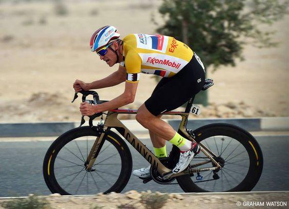 Alexander Kristoff on his Tour of Qatar triple stage winning Aeroad CF SLX