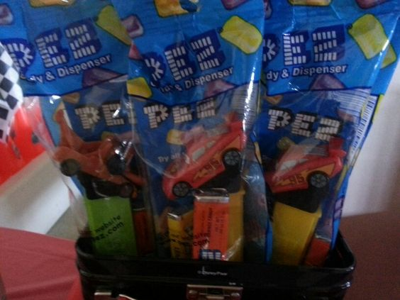 Cars- pez candy buffet