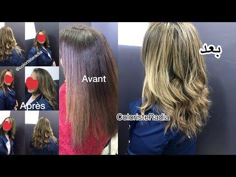 توحيد لون الشعر داكن من البني غامق اشقر فاتح ذهبي From Brown To Light Blonde Youtube Light Blonde Hair Styles Hair