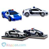 Politie auto sport design - Koppen.com