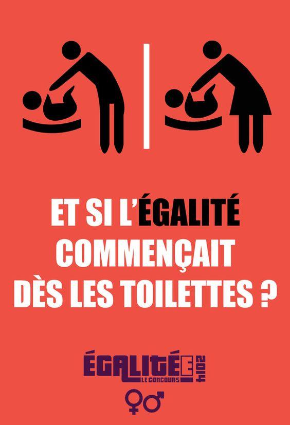 Et si l'égalité commençait dès les toilettes ?