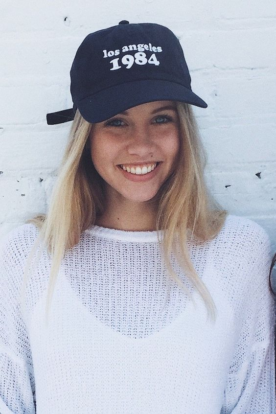 Brandy ♥ Melville | Katherine Los Angeles 1984 Cap - Hats & Caps - Accessories