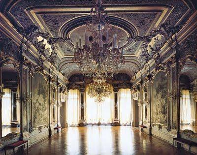 venetian palazzo interiors   Above Venice's Palazzo ...