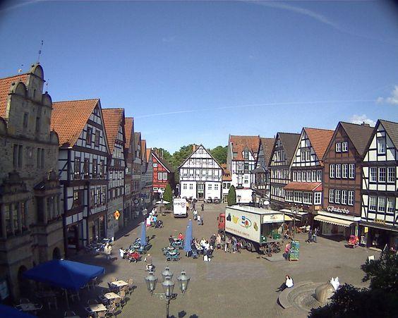 Heute im ZDF Morgenmagazin: Webcam Marktplatz Rinteln