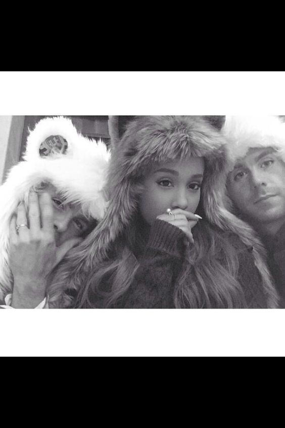 AG - Ariana with Brian and Scott. (celebrating their 4th year of friendship.)