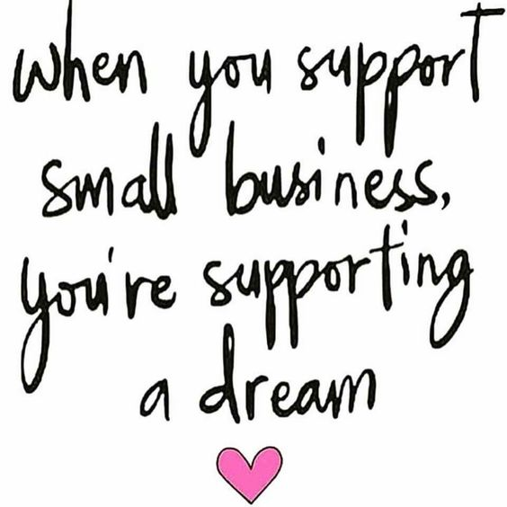 Support small business!!!!