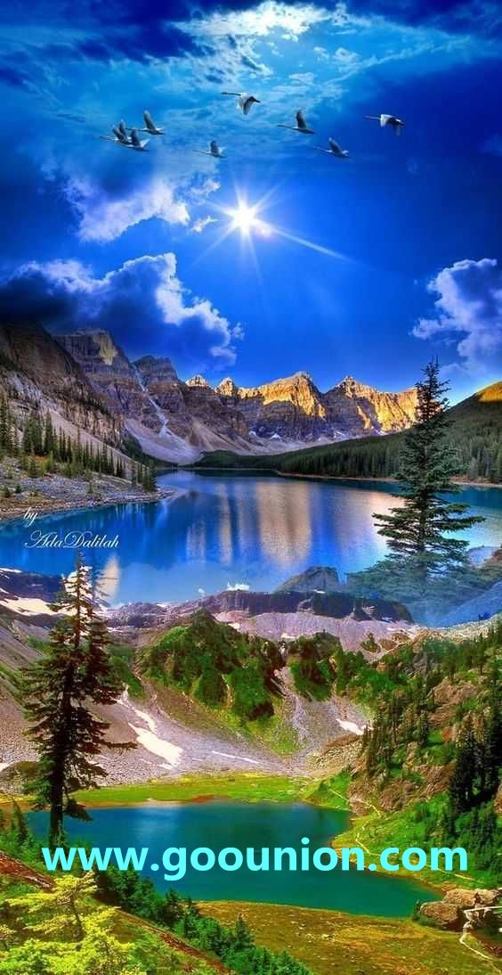A Simple Picture But Contains Many Scenes Of Nature From Mountains To Rivers To T Beautiful Landscape Photography Beautiful Nature Beautiful Nature Pictures