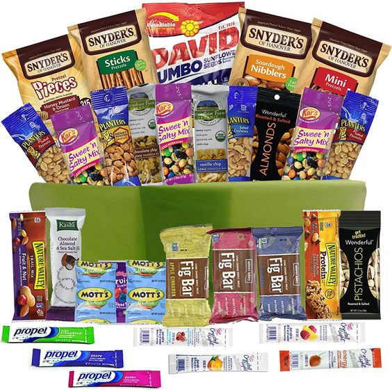 Birthday Gift Baskets For College Students : Healthy snacks gift basket care package health food