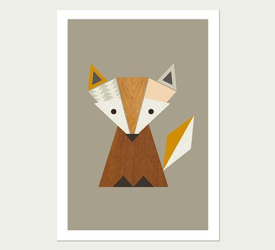Little Fox Nursery Art, Modern Kids Wall Art, Modern Nursery Decor, Kids  Room Art, Fox Print, Woodland Print. On Etsy, $27.66 AUD | Pinterest | Fox  Nursery, ... Part 75