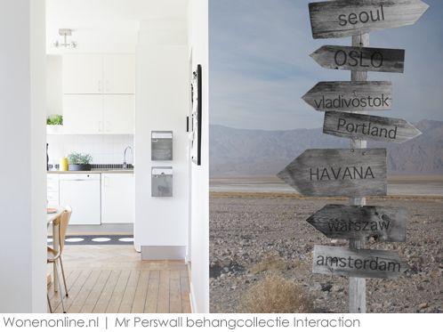 Interaction behang  van Mr Perswall - #interieur #wonen