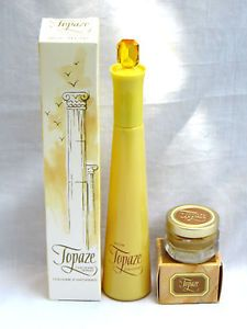 Old Avon Perfumes | VINTAGE AVON 3 FL OZ FULL BOTTLE TOPAZE COLOGNE SPRAY IN BOX & PERFUME ...