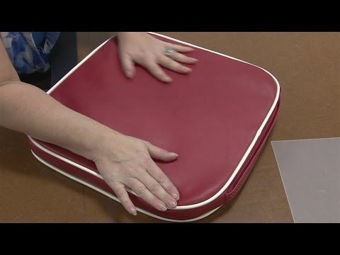 How to Make a Stadium Cushion. These instructions can be used to make any type of cushion.