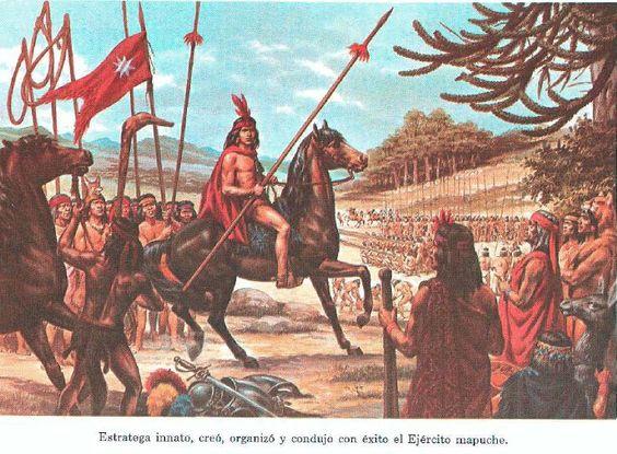 Leftraru fvtra ñidol tokingerkefuy (La historia de Lautaro desde mirada mapuche) | Mapuexpress