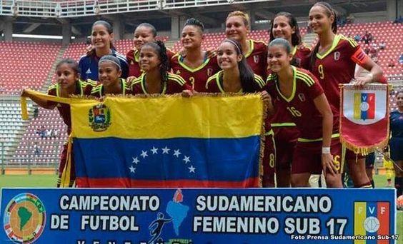 @HogarDeLaPatria : RT @UnaMujerVzla: Bravo bravísimo muchachas!  Campeonato Sudamericano de Fútbol Femenino Sub-17 por la oncena venezolana. https://t.co/T7QVJtvZwm