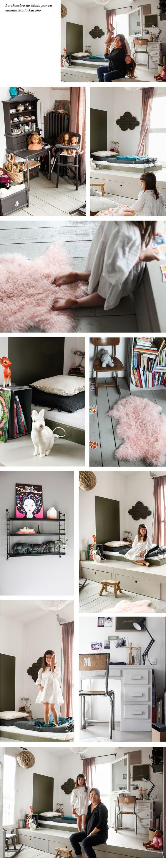 Lit enfant, meubles enfant design et accessoires : Chambre de Mona ...