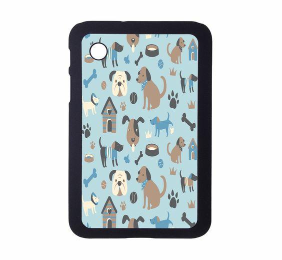 Protective Samsung Galaxy 2 (7.0) Case Puppy Pattern. $21.00, via Etsy.