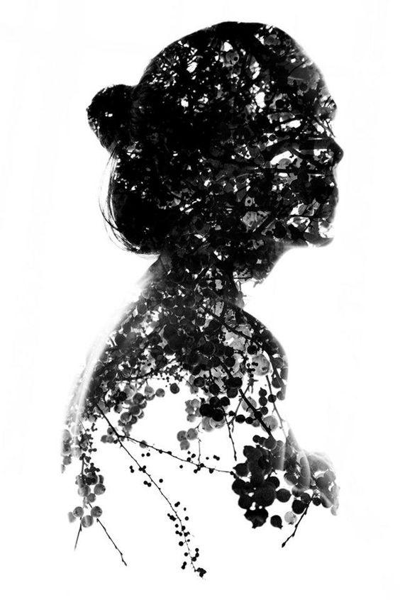 Dreamy Double Exposure Portraits by Aneta Ivanova