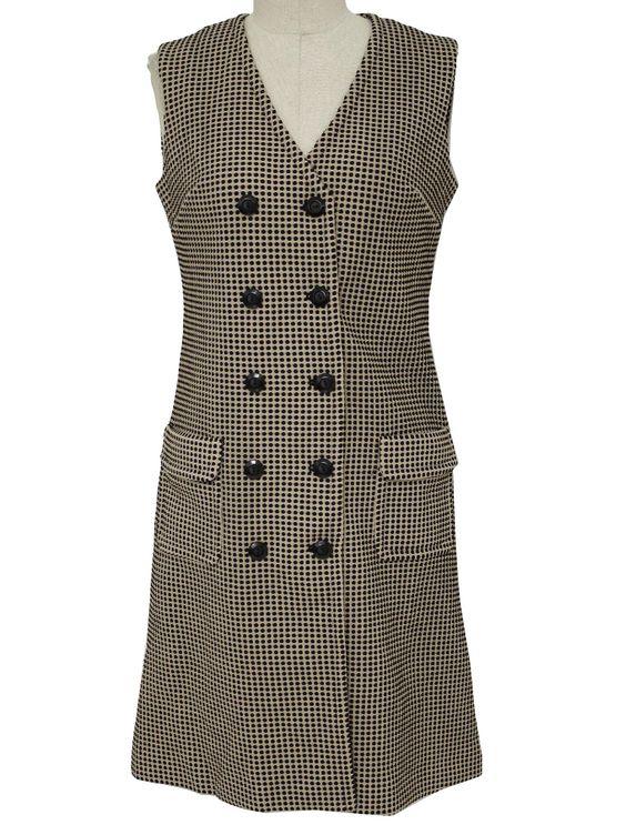 70s butte knit, sleeveless jumper