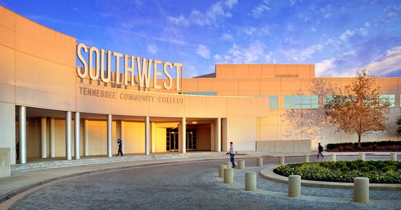 Exterior of Southwest Community College Library