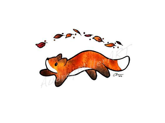 Fox Trot by AudreyMillerArt.deviantart.com on @DeviantArt