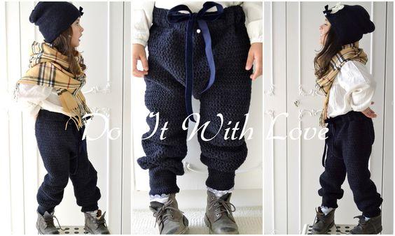 ❤ Kinderhose Softy Pants Häkelanleitung E-Book❤ von  DO IT WITH LOVE auf DaWanda.com