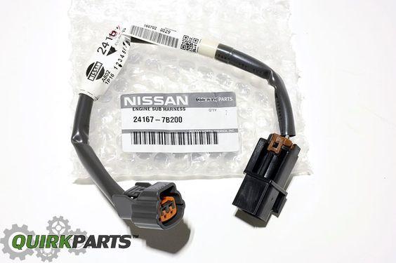 1999 2003 Nissan Quest Knock Sensor Engine Harness Wiring Harness Oem Ebay Nissan Nissan Quest Cool Vans