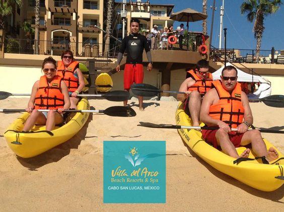 Ready for an adventurous 2015? #VillaDelArco #LosCabos #VillaGroupResorts #TBT #MauricioFromActivities #KayakPlay