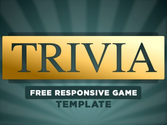 Free Responsive eLearning Game Template for Adobe Captivate Need a - trivia powerpoint template