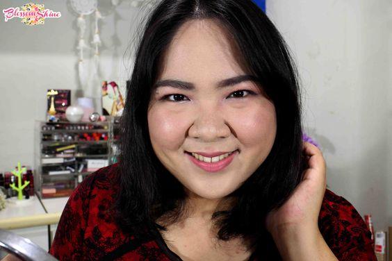 Hasil Makeup menggunakan PIXY UV Whitening Makeup