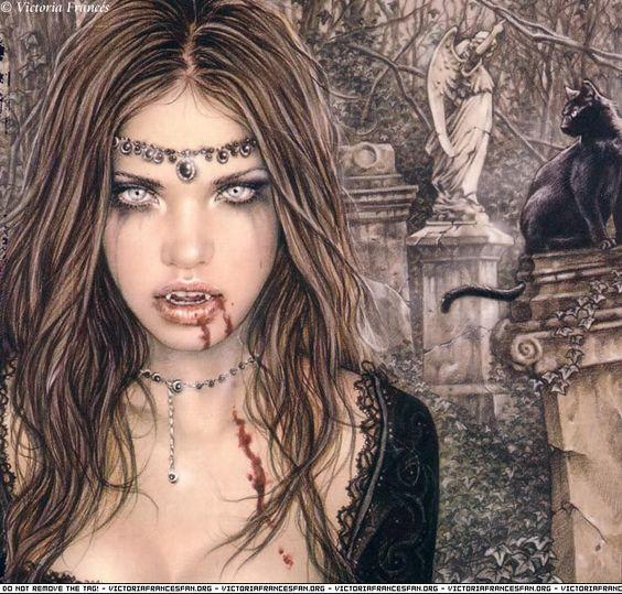 vampiros - Vampiros en el Arte fantastico. Bce386ed3a3834c7232d7646ef96169d