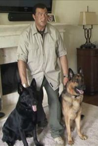 Steven Seagal & GSDs