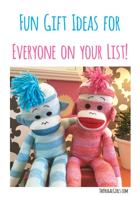 Funny Gift Ideas for Everyone on your List!  You'll love these unique gifts for Christmas, Birthdays and more!  So many creative ideas for gifts they don't already have! | TheFrugalGirls.com