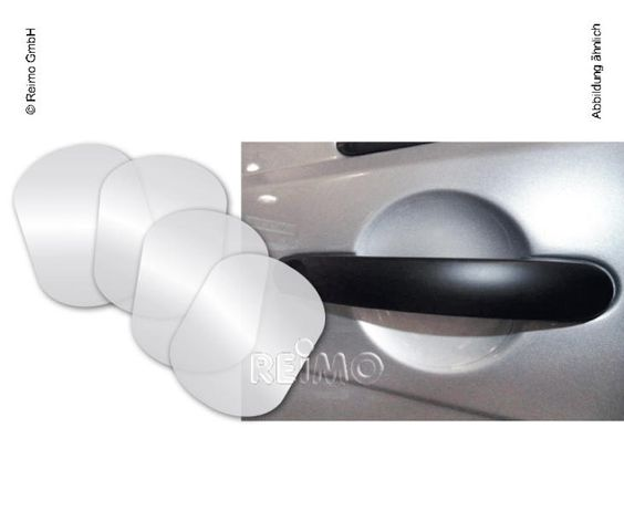 Schutzfolie Türgriffmulde VW T5 ab 2003,transparent 4-teilig