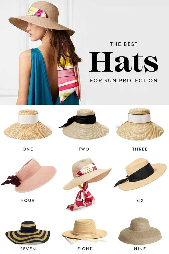 The Best Sun Hats With Full Sun Protection 2021 Summer Hat Style Hat Fashion Summer Hats