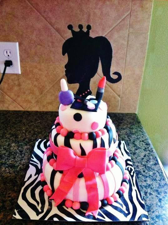 Barbie Birthday cake.