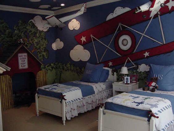 Airplane bedroom