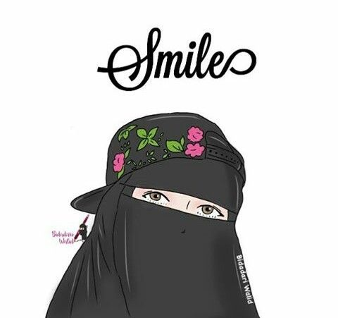 Kartun Muslimah Cinta Al Quran Gambar Kartun Gambar Kartun