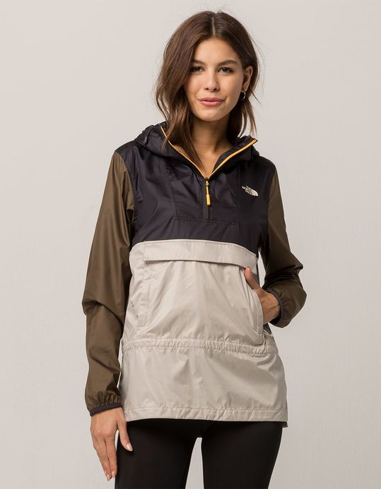 THE NORTH FACE Fanorak Womens Anorak Jacket MULTI