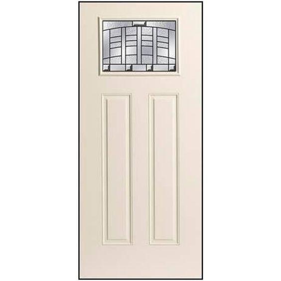 Therma Tru Benchmark Doors Emerson Craftsman Insulating Core 1 Lite Left Hand