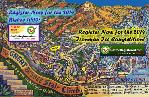 The Great Bisbee Stair Climb