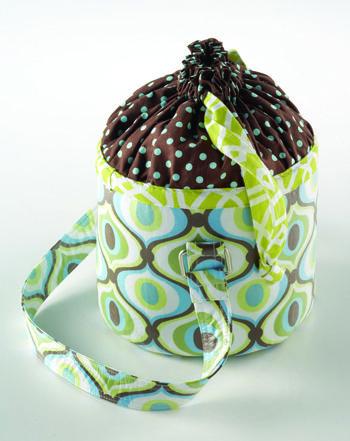 bucket lunch bag